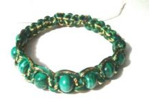 NZMAL1- bracelet with malachite