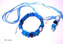 S3M2 - set bracelet and pendant